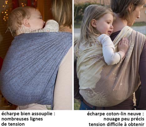 Assouplir une écharpe neuve - Ain Maternage | Moyen de portage (écharpe, porte-bébé...) | Scoop.it