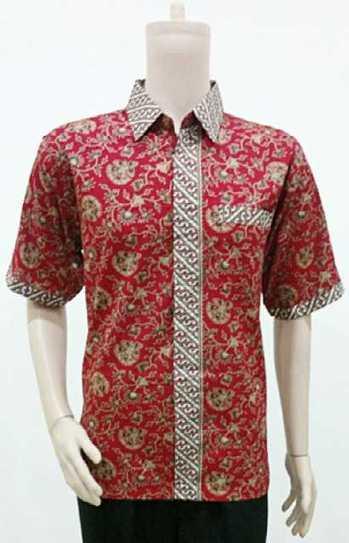 Hem Batik Rosela Merah BP801 | Toko Online Batik Ganitri | mischaYY | Scoop.it