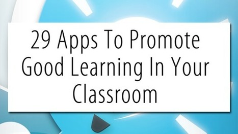 An iPad toolkit – 29 iPad Apps that promote goo... | Leadership for Mobile Learning | Scoop.it