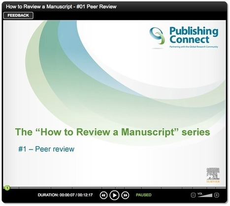 How to review a manuscript — #1 intro to peer review | The Praxis of Research | Scoop.it