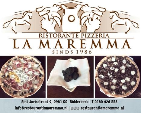 Voor de #fijnproevers onze #pizzas met het #zwartegoud #truffel @LaMaremma #ridderkerk | MAREMMA MAGAZINE | Scoop.it