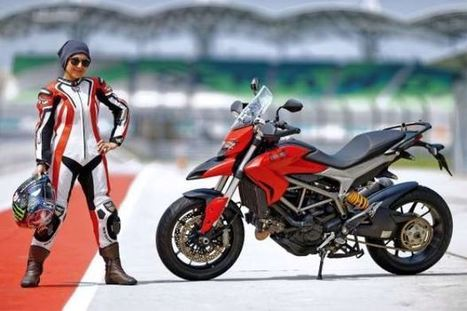 Crusading for equality on bikes | Ductalk Ducati News | Scoop.it