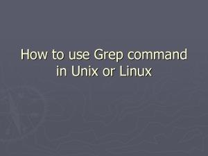 Exercice UNIX Filtres usuels et pipes | Cours Informatique | Scoop.it