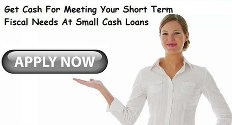 Small Cash Loans: Fix Small Urgent Needs Smartly | Small Business Loans Alberta | Scoop.it