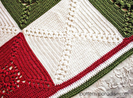 Rosary Hill Blanket CAL - Week 4 Finishing | Pattern Paradise | Just Crochet | Scoop.it