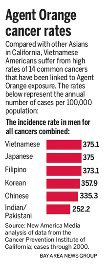 A neglected peril: Vietnamese Americans and Agent Orange - San Jose Mercury News | Agent Orange | Scoop.it