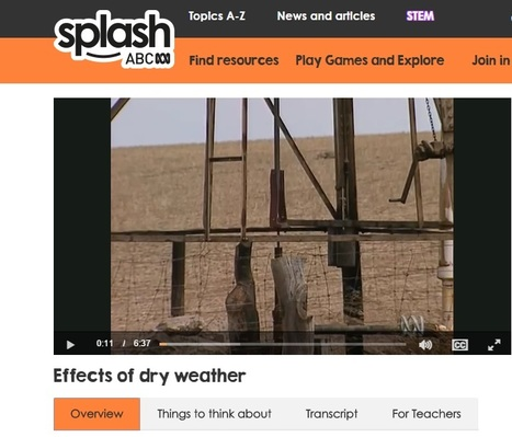 Video: Effects of Dry Weather   History and Geography Sites for ES1 & S1 teachers - NSW Curriculum   Scoop.it