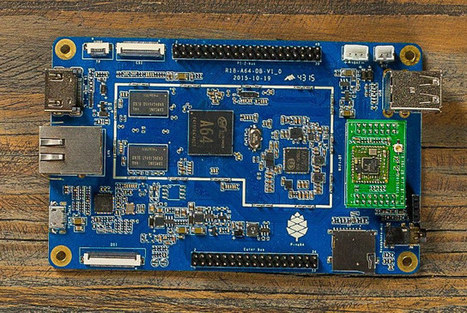 PINE A64+ Board Giveaway | Embedded Systems News | Scoop.it