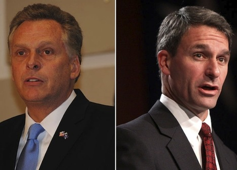 """""""Youth help turn back the tea party in Virginia gubernatorial race"""" 