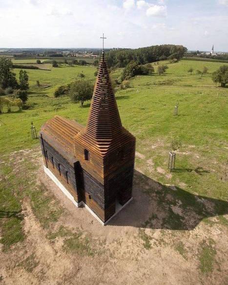 Vue sous cet angle, cette église aurait presque l'air normale… Attendez de la voir de plus près.   Creativ Focus   Scoop.it