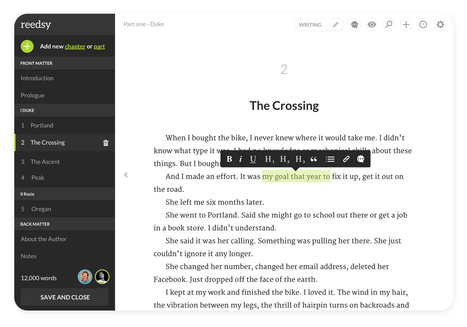 The Reedsy Book Editor | Ebook and Publishing | Scoop.it