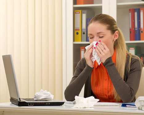 You Will Not Believe How Quickly a Virus Can Spread in Your Office | Women's Health Magazine | CALS in the News | Scoop.it