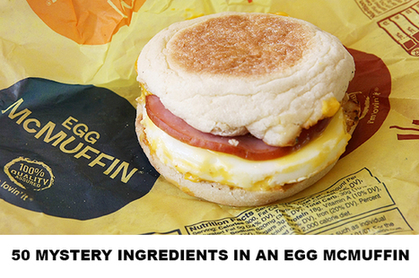 DIET DETECTIVE: What's Really Inside Your Egg McMuffin? | Holistic Lifestyle | Scoop.it