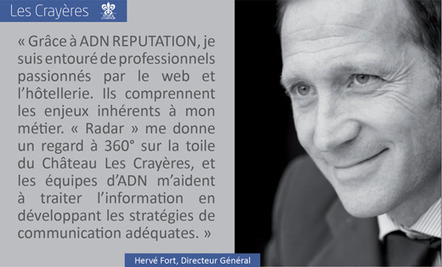 Interview de Stéphane Riss, le Directeur des Opérations de l'agence ADN Réputation   L'actualité du tourisme et hotellerie par Château des Vigiers   Scoop.it