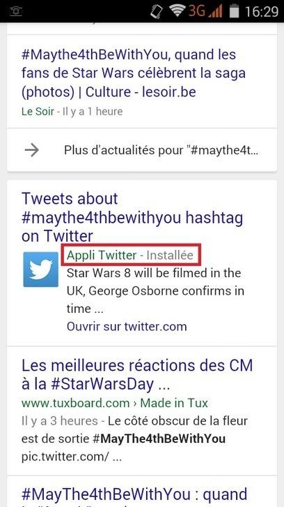 Google commence à afficher les Tweets de Twitter dans ses pages de résultats - #Arobasenet.com | Référencement SEO SEA SMO | Scoop.it