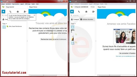 Comment ouvrir PLUSIEURS comptes Skype simultanément ! | Easytutoriel.com | Machines Pensantes | Scoop.it