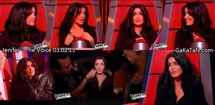 Photos : Jenifer sexy dans The Voice (02/02/13) | Radio Planète-Eléa | Scoop.it