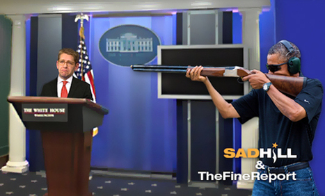 Obama 'Furious' Over White House 'Skeet Shooting' Photoshops® – Issues Executive Order To Prevent Future Mishaps | Sad Hill News | News You Can Use - NO PINKSLIME | Scoop.it