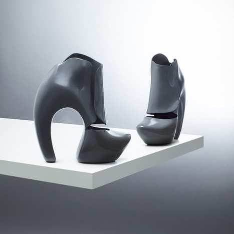 3ders.org - Instant 3D printed shoes offers individualized shoes in custom sizes | News & 3D Printing News | Les mondes virtuels en pédagogie | Scoop.it