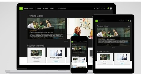 Microsoft Stream is a new video service for businesses - TechCrunch | mvpx_Vid | Scoop.it