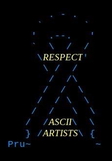 ASCII ART BY PRUDENCE, by Lorraine | ASCII Art | Scoop.it