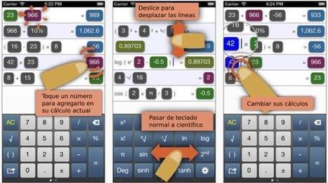 PopCalc, por fin una calculadora diferente y útil para iOS | iPad classroom | Scoop.it