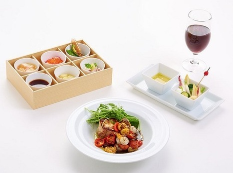 JAL: un nouveau menu pour les First et Business au départ de Paris | Food 2.0 | Scoop.it