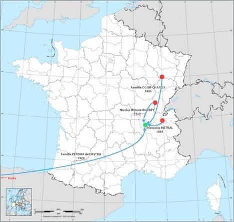 Identifier les migrations de ses ancêtres | Théo, Zoé, Léo et les autres... | Scoop.it