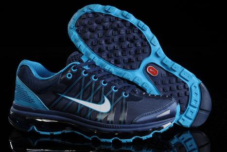 Cheap Sale Nike Air Max 2014 Mens Deep Blue DodgerBlue Shoes|Cheap Air Max Shoes Sale | Cheap Air Max 2014 | Scoop.it