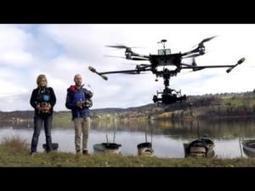 Des drones pour caractériser la forêt française | Filière bois - général | Scoop.it