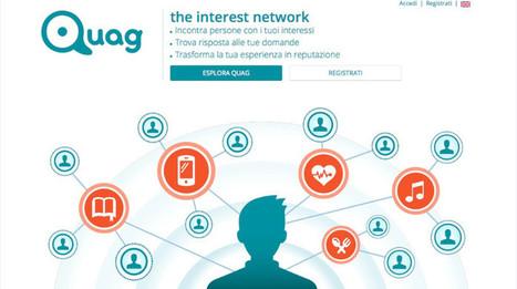 ADV Advertiser |   Nasce Quag, l'interest network italiano per trovare risposte qualificate | Socially | Scoop.it
