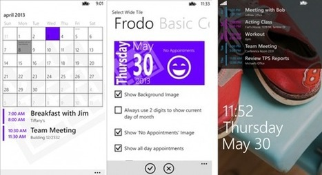 Simple Calendar V2.0 For Windows Phone Updated With Live Tiles | Windows Phone | Scoop.it