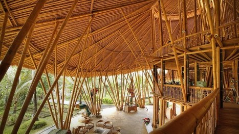Magical houses, made of bamboo | My Updates | Scoop.it