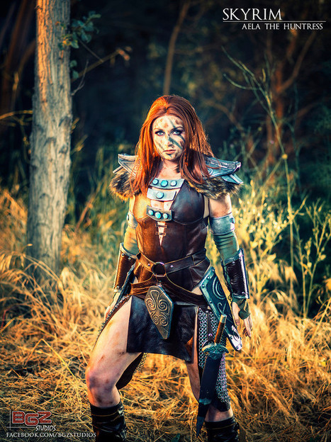 Cosplay France : Aela (Skyrim) par Windofthestars | Cosplay | Scoop.it