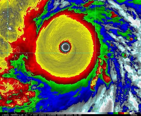 Super typhoon Haiyan strikes Philippines, among strongest storms ever   TBHS General Geography   Scoop.it