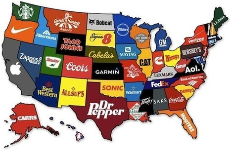 Friday Fun: Most Famous Brands by State | General Marketing | Scoop.it