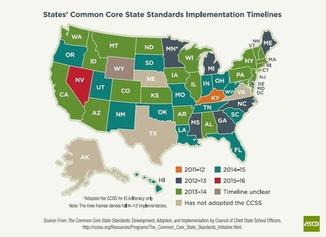 Moving the Common Core State Standards from Adoption to Implementation to Sustainability | ASCD Inservice | ArchIndy Catholic Identity | Scoop.it