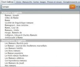 Un nouveau moteur de recherche pour Gallica | Gallica | Nos Racines | Scoop.it