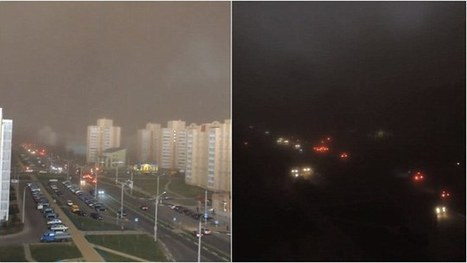 Watch darkness descend on Belarus as 'apocalyptic' weather hits | The Christian Voice- Christian News and Insight | Scoop.it