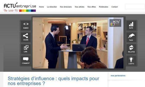 Interview vidéo: Stratégies d'influence, quels impacts pour nos entreprises ? avec Romain Zerbib | Veille développement durable | Scoop.it
