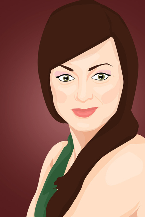 Create a Vector Inspired Portrait in Photoshop | Photography | Scoop.it