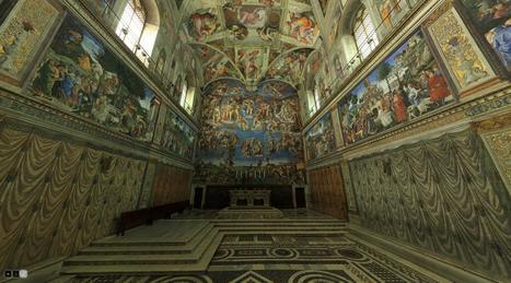 Virtual Visit to the Sistine Chapel | Italy Travel | Italmania | Scoop.it
