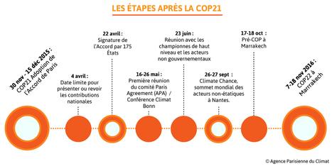 Direction COP22 : quelles sont les étapes ? | D'Dline 2020, vecteur du bâtiment durable | Scoop.it