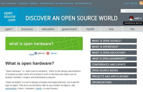 What is open hardware | Opensource.com | Café puntocom Leche | Scoop.it
