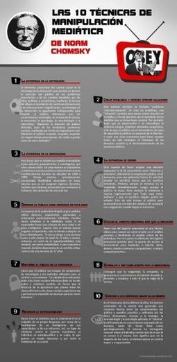 Las 10 Técnicas de Manipulación Mediática según Noam Chomsky[Infografía] | María Saint Martin | Scoop.it