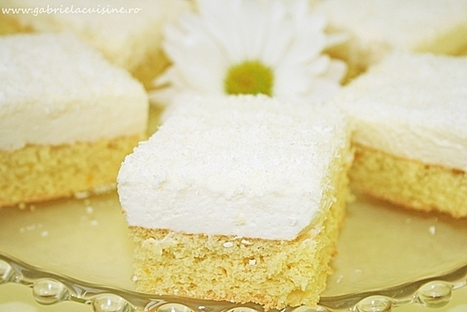 Comment on Cake with mascarpone mousse and white chocolate by Gabriela | gabrielacuisine | Scoop.it