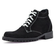 Black men heel height boots that make you taller 9cm / 3.54inch | Elevator Height Boots for Men Taller | Scoop.it