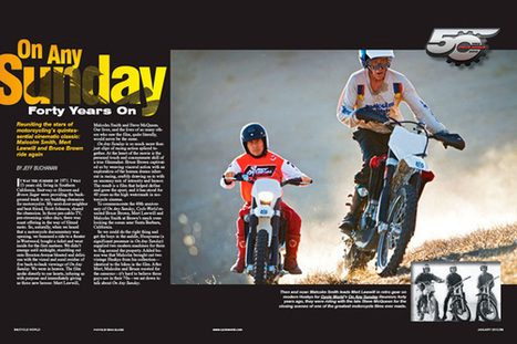 Cycle World – On Any Sunday Movie- 40th Anniversary Reunion- Bruce Brown Film   Ductalk Ducati News   Scoop.it