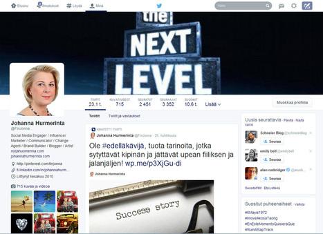 Twitterin aloitus uudella designilla | Kirjastoista, oppimisesta ja oppimisen ympäristöistä | Scoop.it