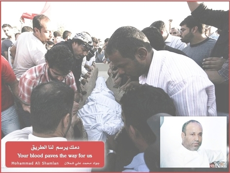 Revolution in Bahrain, 17th Martyr - Graveside picture | Human Rights and the Will to be free | Scoop.it